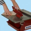 Plytelių pjovimo staklės su deimantiniu disku DEDRA 180