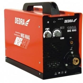 Inverterinis suvirinimo aparatas mini DEDRA MIG/MAG IGBT 180A DESMi180