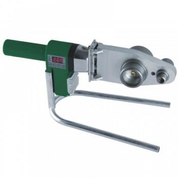 Plastikinių vamzdžių suvirinimo aparatas 800W, skystųjų kristalų ekranas, elektroninis temperatūros reguliavimas DEDRA DED7516