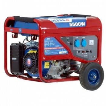 Elektros generatorius 5000W, max 5,0 DEDRA - DEGB6500K