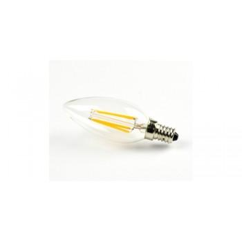4W LED COG lemputė V-TAC E14, žvakės formos