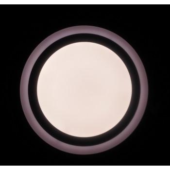 LED SURFACE PANELLIGHT APVALI PANELĖ 22W - V-TAC - 110854