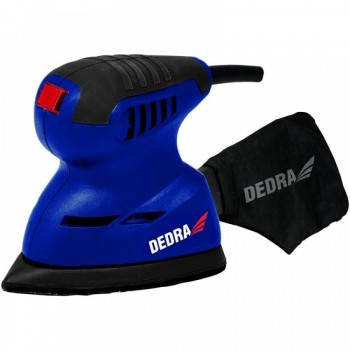Elektrinis vibracinis šlifuoklis Delta DEDRA DED7941