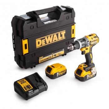 Combi Drill DeWalt DCD796P2 18 V 2x5,0 Ah Battery
