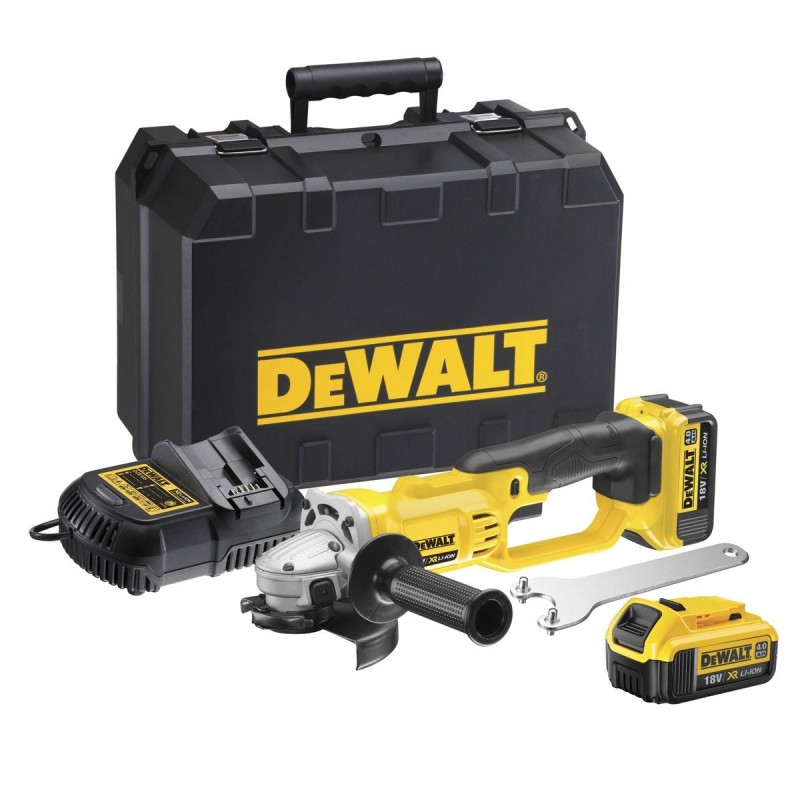 Kampinis šlifuoklis DeWALT DCG412M2