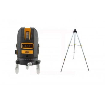 Nivel System CL4 Red Multi-Cross Laser (2x360 °) + Raised Rotary Stand (SJJ-M1)