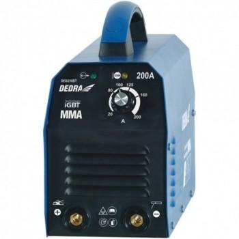 DEDRA Suvirinimo aparatas inventorinis 200A, IGBT DESi210BT