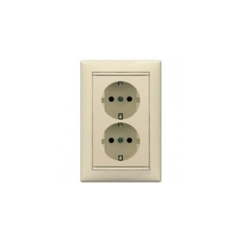 Electricity plug (2-in) Legrand valena