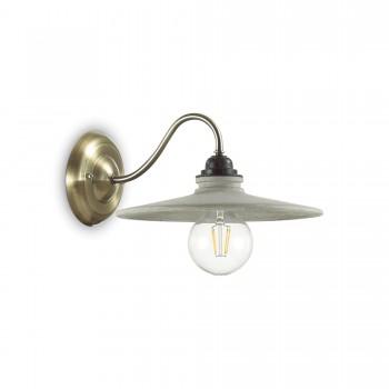 Sieninis šviestuvas BROOKLYN AP1 Ideal Lux