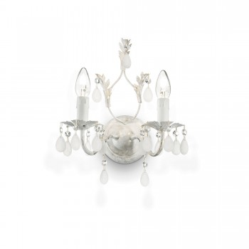 Sieninis šviestuvas CASCINA AP2 Ideal Lux