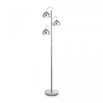Pastatomas šviestuvas DISCOVERY CROMO PT3 Ideal Lux