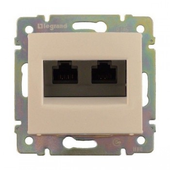 Computer socket (2-in) Legrand Valena
