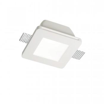 Įmontuojamas šviestuvas SAMBA FI1 SQUARE BIG GLASS Ideal Lux