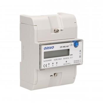Trifazis elektros skaitiklis ORNO OR-WE-507