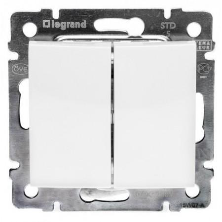 Switcher (2 keys) Legrand Valena
