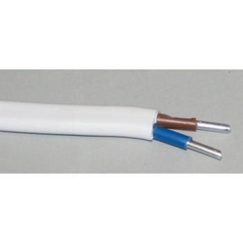 Aliuminis monolitinis kabelis AL 2x6mm2