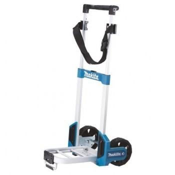 """MAKITA TR00000001 """"MAKPAC"""" Sulankstomas gabenimo vežimėlis su ratais"""