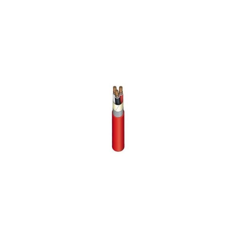 Kabelis nedegus, HDGS 3x2,5mm2, varinis monolitis apvalus raudonas (E90)