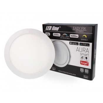 LED Line panelė EASY fix AURA SMART 18 W