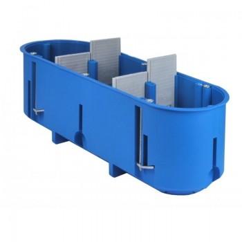 Dėžutė GIPS 3v gili mėlyna