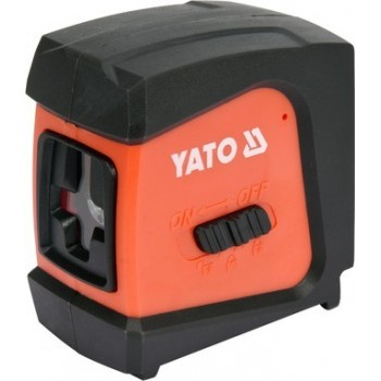 Kryžminis lazerinis nivelyras IP54 20m YATO YT-30425