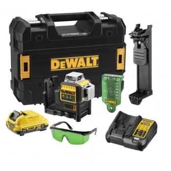 DeWALT DCE089D1G kryžminių linijų lazeris